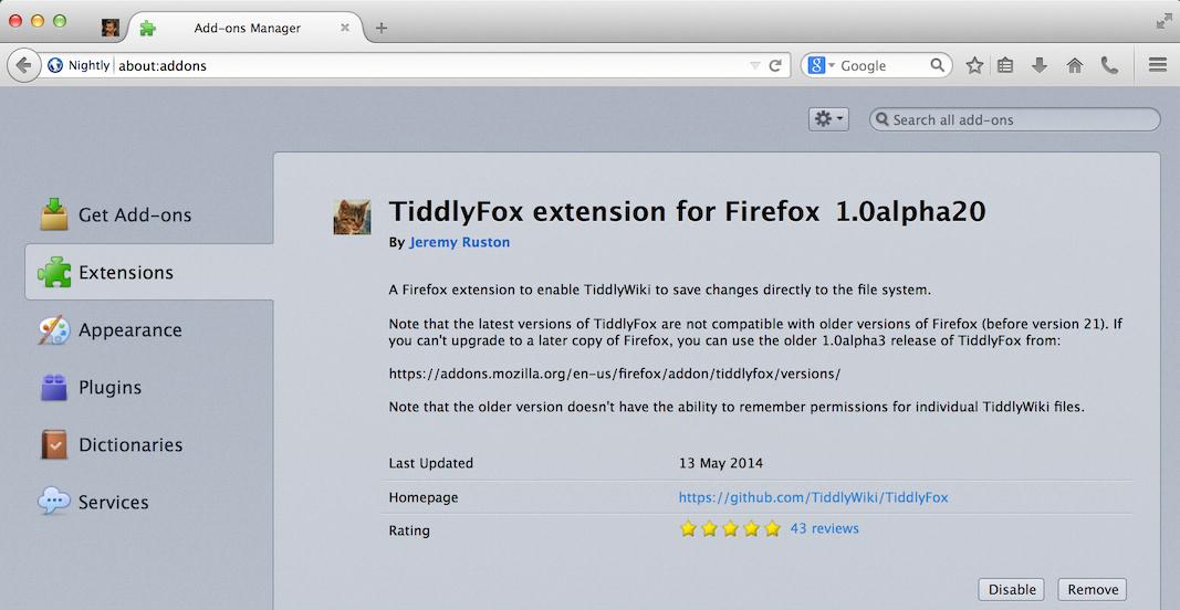TiddlyWiki TalkyTalky — talking about TiddlyWiki